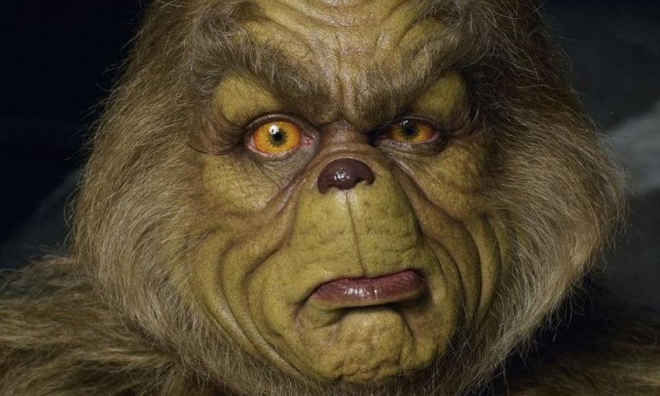 <p>Jim Carrey's makeup in Ron Howard's 'The Grinch' was so uncomfortable the actor was taught torture resistance techniques by a Navy SEAL to help him cope with the discomfort. </p>