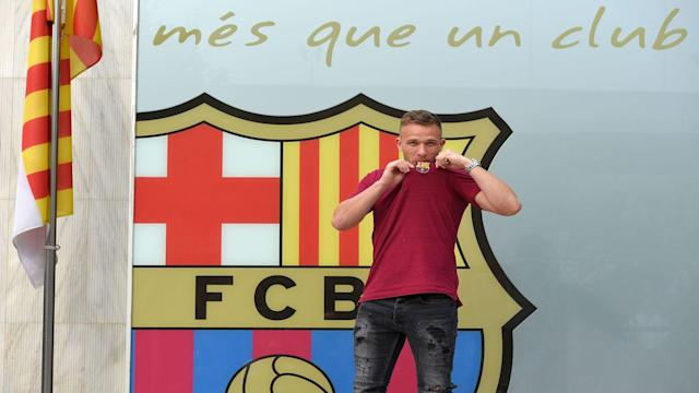 Barcelona's new Brazilian midfielder Arthur said it is a privilege to sign for the LaLiga giants.