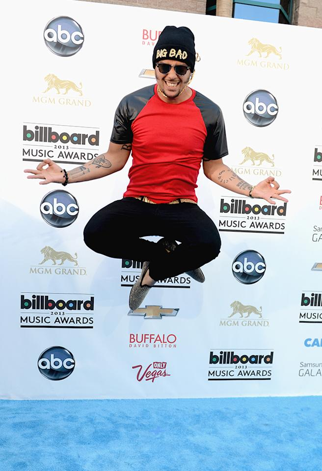 LAS VEGAS, NV - MAY 19:  Recording Artist SkyBlu  arrives at the 2013 Billboard Music Awards at the MGM Grand Garden Arena on May 19, 2013 in Las Vegas, Nevada.  (Photo by Denise Truscello/WireImage)