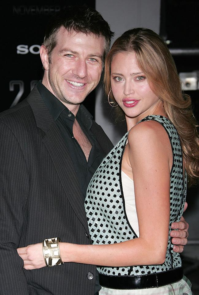 """Gavin B. Keilly and <a href=""""http://movies.yahoo.com/movie/contributor/1804094769"""">Estella Warren</a> at the Los Angeles premiere of <a href=""""http://movies.yahoo.com/movie/1810045661/info"""">2012</a> - 11/03/2009"""