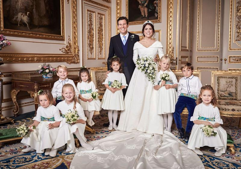 Princess Beatrice S Wedding Dress Could Not Be More Different Than