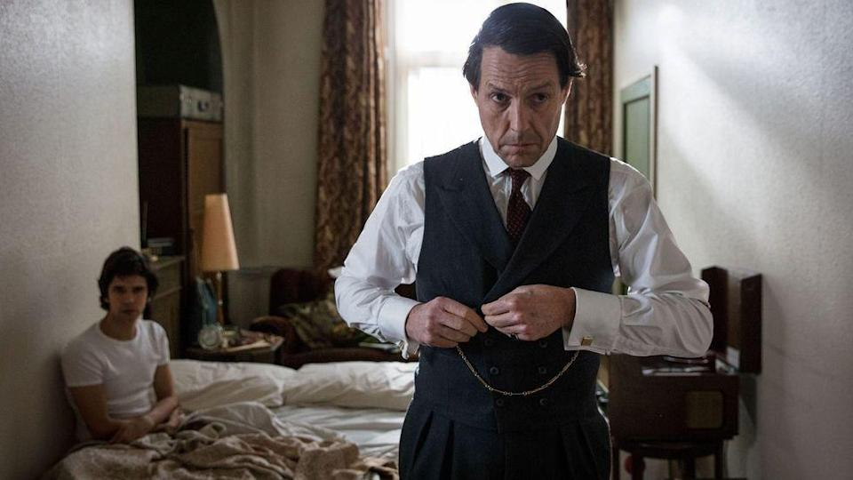 <p><strong>Release date: 2021 on BBC One</strong></p><p>Following on from the success of Hugh Grant's turn as disgraced MP Jeremy Thorpe in A Very English Scandal, the anthology series now moves on to focus on the messy 1963 divorce of Margaret Campbell, the Duchess of Argyll, from her second husband – with the new script being penned by Agatha Christie writer Sarah Phelps.</p>