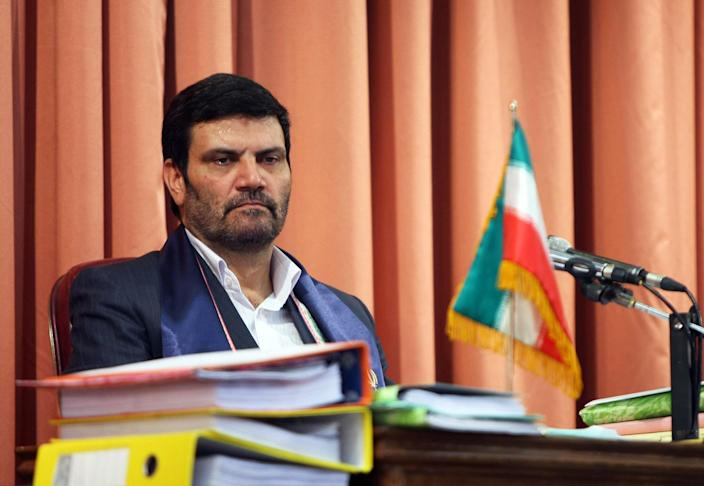 Iranian Judge Salavati (Ali Rafiei / AFP via Getty Images file)