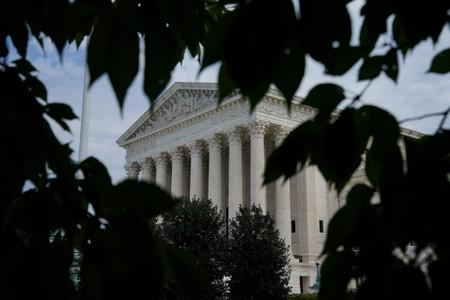 FILE PHOTO: Scenes from the Exterior of the U.S. Supreme Court