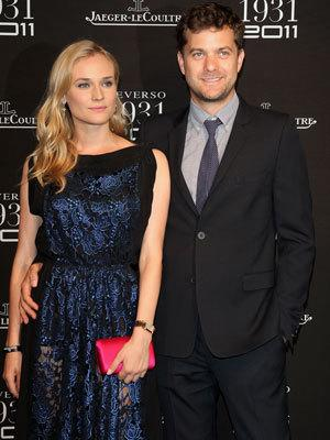 <p>Diane Kruger rarely puts a well-heeled foot wrong in the fashion stakes. Here she wears a lace design in midnight shades of blue and black.</p>