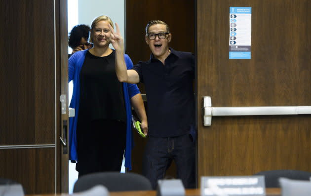 Canadian rock star Bryan Adams appears as a witness at a Standing Committee on Canadian Heritage in Ottawa on Sept. 18, 2018.
