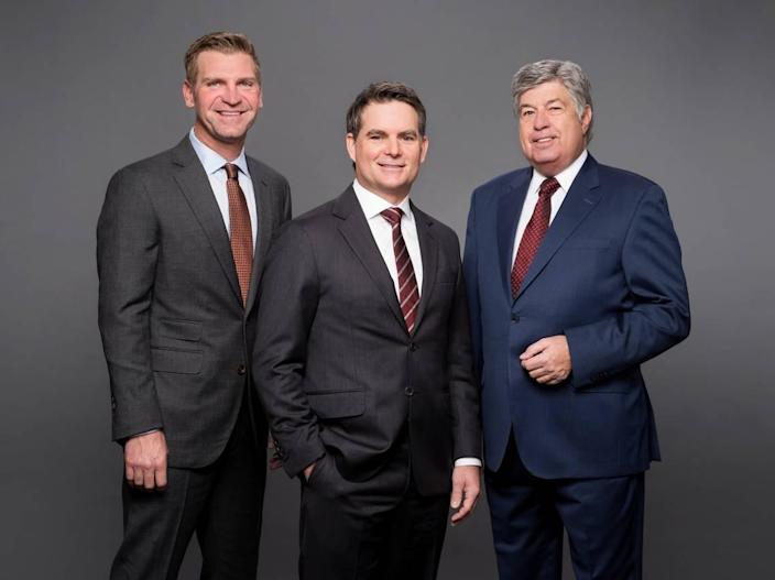 Clint Bowyer, Jeff Gordon and Mike Joy are calling NASCAR Cup races this year for the FOX Sports broadcast booth.