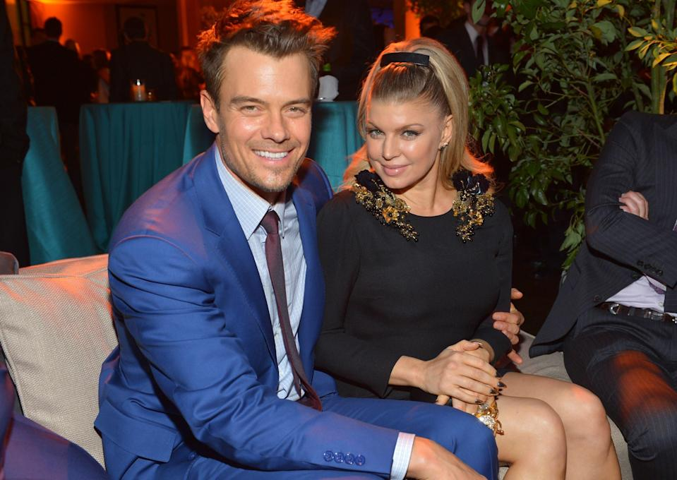 """Even though Fergie and Josh Duhamel announced that they were separating back in 2017, the singer filed for divorce on May 31. """"With absolute love and respect we decided to separate as a couple earlier this year,"""" the two <a href=""""https://www.etonline.com/fergie-files-for-divorce-from-josh-duhamel-almost-two-years-after-separating-126266"""" rel=""""nofollow noopener"""" target=""""_blank"""" data-ylk=""""slk:said"""" class=""""link rapid-noclick-resp"""">said</a> in a statement to <em>Entertainment Tonight</em>. """"To give our family the best opportunity to adjust, we wanted to keep this a private matter before sharing it with the public. We are and will always be united in our support of each other and our family."""" The former couple share a 5-year-old son named Axl."""
