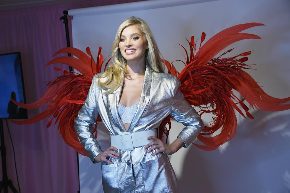 NEW YORK, NY - NOVEMBER 29:  Elsa Hosk attends as VS Angels celebrate the Victoria's Secret Fashion Show airing December 2 (10/9c) on the ABC Television Network at the new VIP Runway Experience located in the NYC Fifth Avenue flagship store on November 29, 2018 in New York City.  (Photo by Dimitrios Kambouris/Getty Images for Victoria's Secret)
