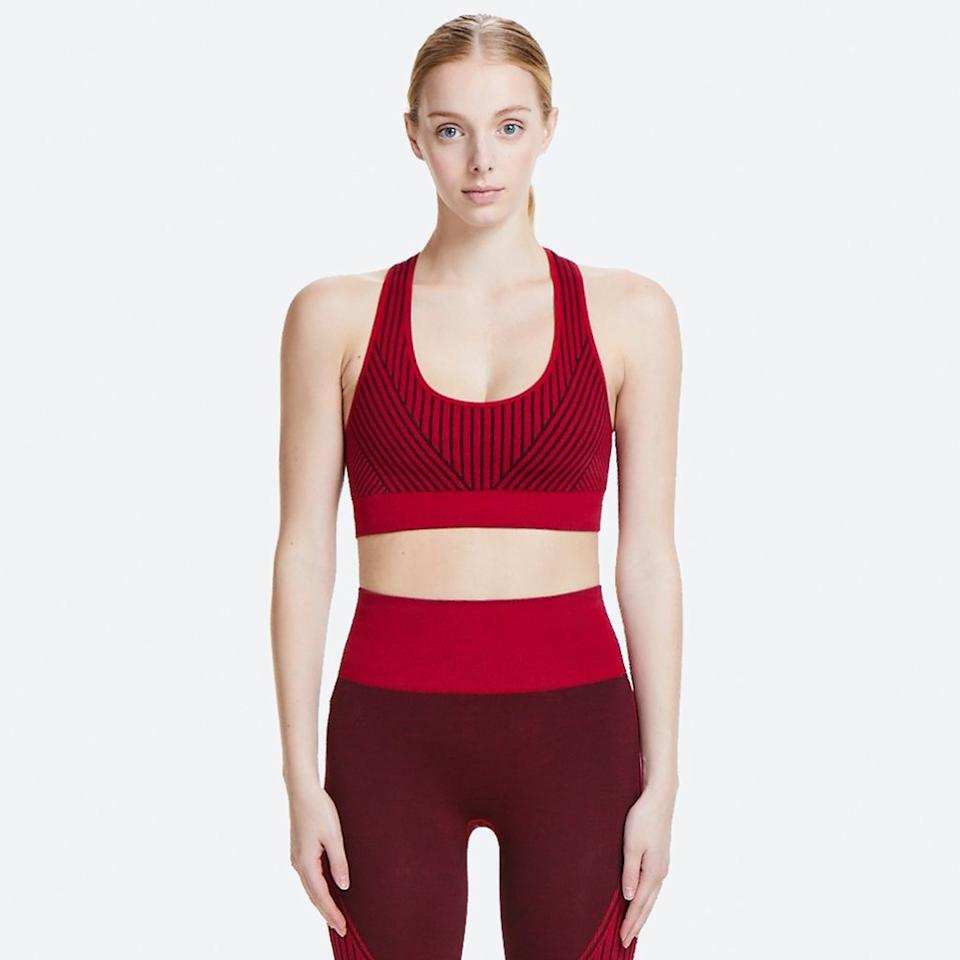 """<p><strong>Wave Seamless Bra</strong></p><p>alalastyle.com</p><p><strong>$33.00</strong></p><p><a href=""""https://go.redirectingat.com?id=74968X1596630&url=https%3A%2F%2Falalastyle.com%2Fcollections%2Fnew-arrivals%2Fproducts%2Fwave-seamless-bra-crimson%3Fvariant%3D8119872094254&sref=http%3A%2F%2Fwww.harpersbazaar.com%2Ffashion%2Ftrends%2Fg5680%2Fnew-activewear-workout-brands%2F"""" target=""""_blank"""">Shop Now</a></p><p>There's a reason this brand is a favorite amongst both yoga fiends and celebrities alike. From seamless pieces to cool cutouts and technical leggings, Alala offers up chic designs that don't sacrifice comfort. You can also customize your own leggings, choosing everything from the color to the panels down to a personalized monogram. </p>"""