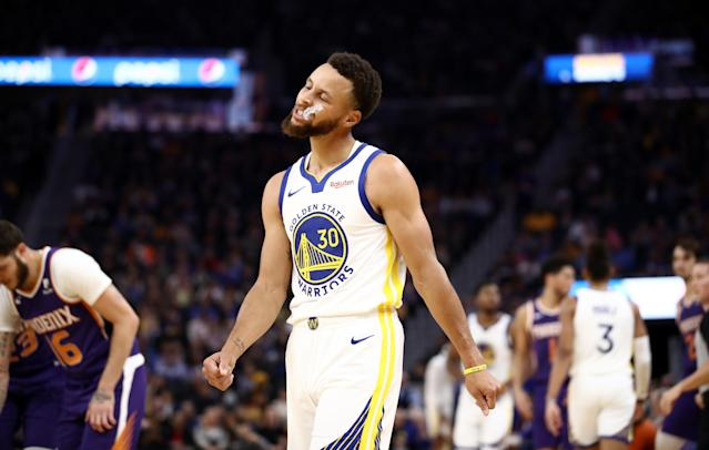 Joe Lacob is still confident in his young players in Golden State, even with Steph Curry's injury marking the latest blow to his roster. (Ezra Shaw/Getty Images)