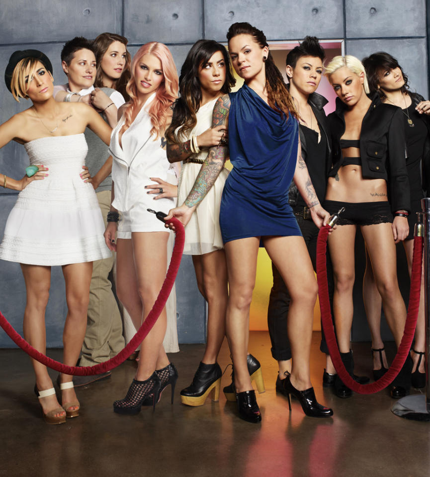 """<P><B>""""The Real L Word"""" (SHO)</b><br> <br><B>Returns July 12</b> <br> <br>The third season is adding some ladies from the East Coast to mix things up. So Kiyomi, Somer, and Amanda will be joining Whitney, Kacy, Cori, Sara, and Romi to explore the various facets of the lesbian community.</P>"""