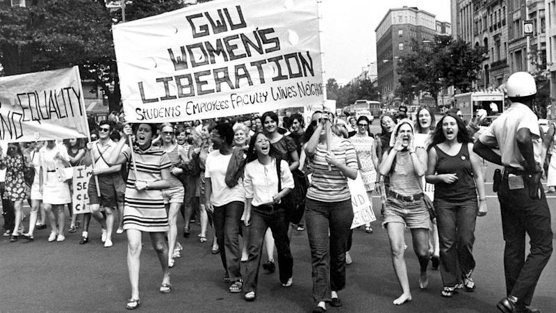 Marcha en Washington en 1970