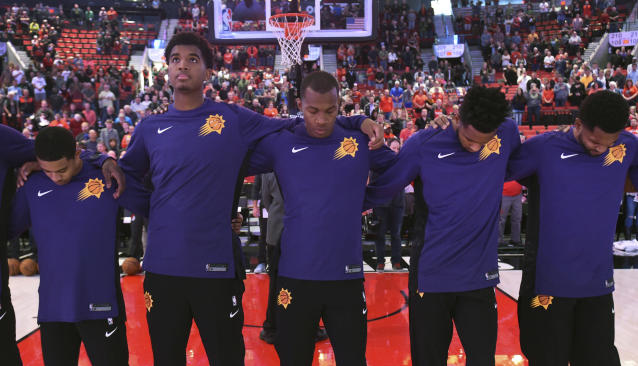 The Suns will need all hands on deck if they hope to make a surprising rise from the Western cellar. (AP)