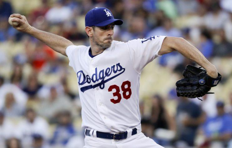 Brandon McCarthy changed his warmup music to a Linkin Park song for Thursday's game. (AP Photo)