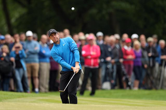 Golf - European Tour - BMW PGA Championship - Wentworth Club, Virginia Water, Britain - May 24, 2018 Northern Ireland's Rory McIlroy in action during the first round Action Images via Reuters/Peter Cziborra