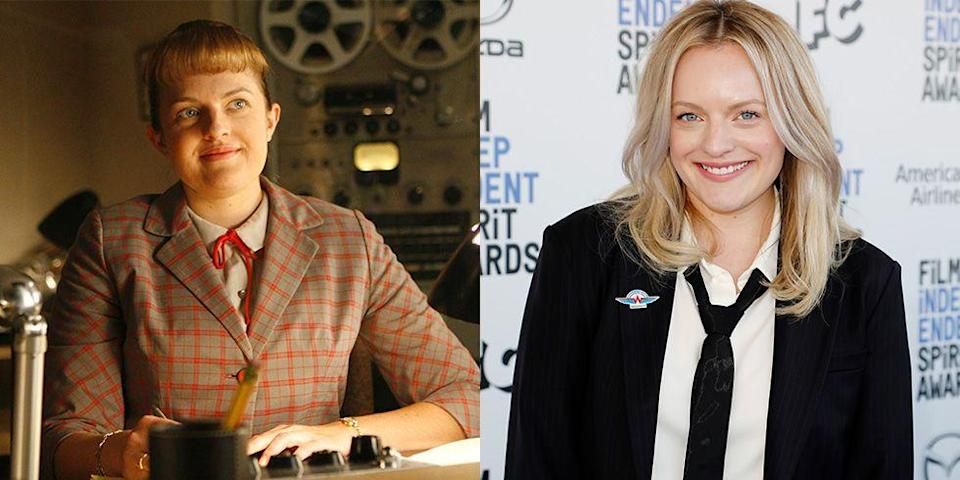 <p>In real life, Elisabeth Moss couldn't be further from the plain Jane secretary turned advertising superstar that she played on <em>Mad Men </em>for seven seasons. </p>