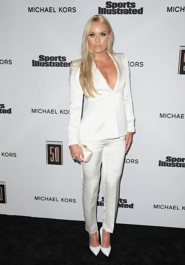 Lindsey Vonn stuns at Sports Illustrated's Fashionable 50. (Photo: Getty Images)