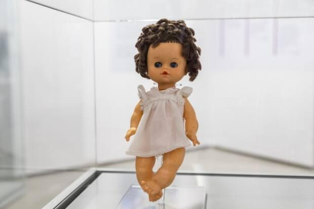 Tran-Davies' doll is part of a five-year travelling exhibit by the Canadian Museum of Immigration at Pier 21.