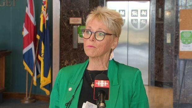Mary Shortall,president of the Newfoundland and Labrador Federation of Labour, says she's concerned about the wording in the provincial budget.