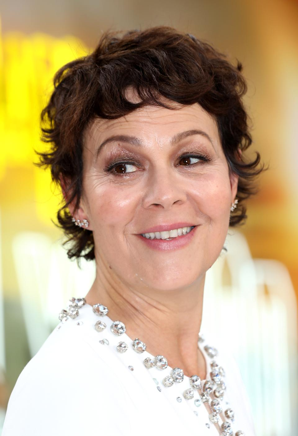 Helen McCrory attending the Once Upon A Time... In Hollywood UK premiere in Leicester Square, London.