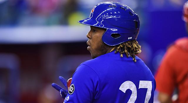 The Toronto Blue Jays aren't calling up Vlad Guerrero Jr. in 2018. (Getty Images)