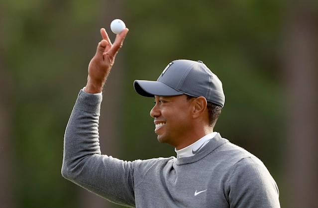 Tiger Woods passes his toughest test yet, shoots a 70 on a brutal day on a tough course at Valspar Championship
