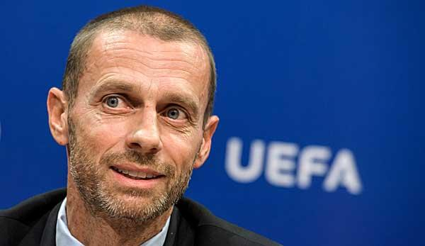 International: UEFA: Ceferin kündigt Luxussteuer an