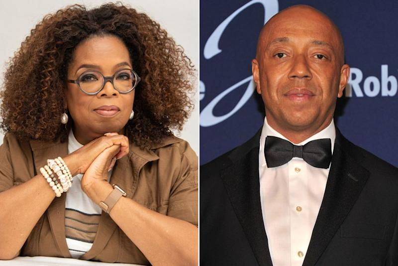 Oprah Winfrey; Russell Simmons | Vera Anderson/WireImage; Stephen Lovekin/Getty