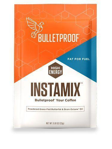 """<p><strong>Bulletproof</strong></p><p>amazon.com</p><p><strong>$29.95</strong></p><p><a href=""""http://www.amazon.com/dp/B01E89PQT8/?tag=syn-yahoo-20&ascsubtag=%5Bartid%7C1782.g.24488778%5Bsrc%7Cyahoo-us"""" rel=""""nofollow noopener"""" target=""""_blank"""" data-ylk=""""slk:BUY NOW"""" class=""""link rapid-noclick-resp"""">BUY NOW</a></p><p>You've probably heard of Bulletproof coffee; it's just coffee mixed with butter and brain octane oil. This on-the-go creamer has both.</p>"""