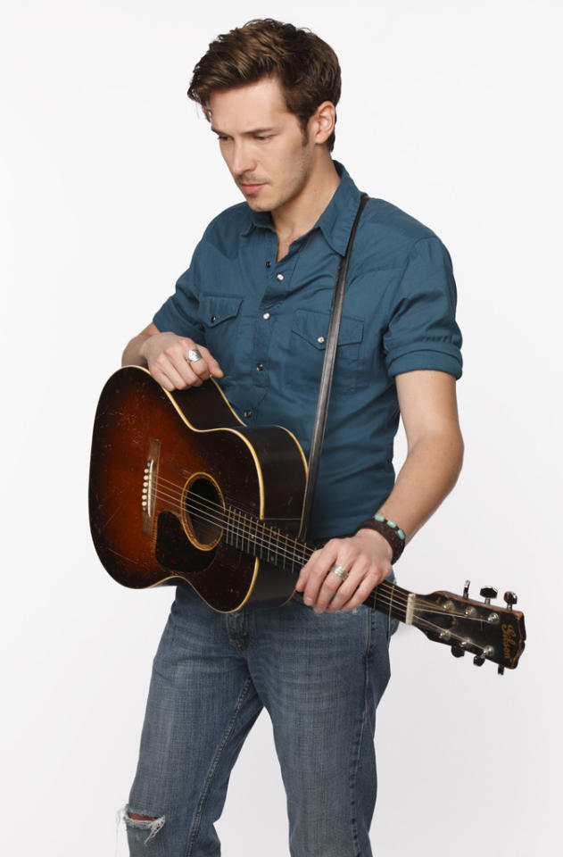 "Sam Palladio stars as Gunnar in ""Nashville"" on ABC."