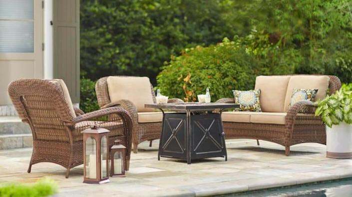 Discover the perfect patio seating for your space at a major markdown.