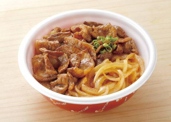 Butadon (Pork Bowl) 500 yen