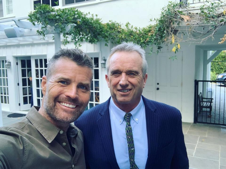 Pete Evans Robert F Kennedy Jnr, prominent anti-vaccination advocate