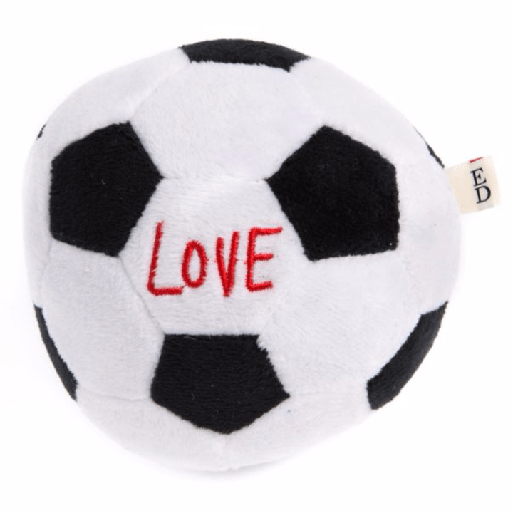 Kick this squishy soccer ball aroundwith your furry friend. (PetSmart, $5.99)