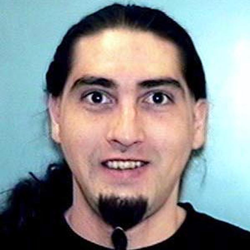 This photo provided by the Buckeye Police Department shows Andrew J. Rael.  The ex-convict, paroled from a Colorado prison in October, engaged in a gun battle with law enforcement on a Phoenix-area freeway Monday, March 10, 2014 and died in the ensuing shootout that snarled morning traffic. (AP Photo/Buckeye Police Department,ho)