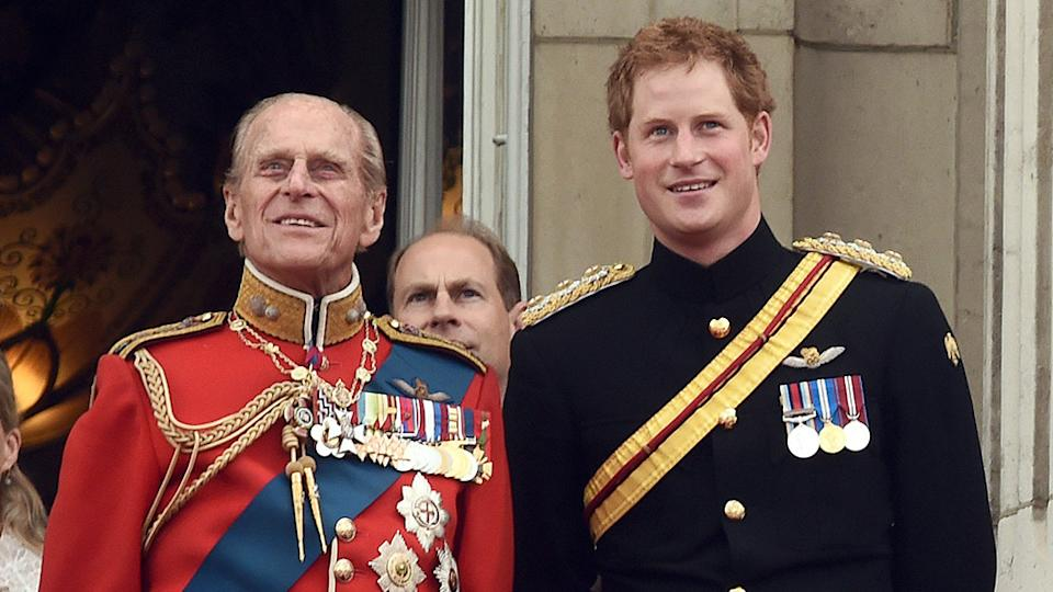Prince Harry has publicly paid tribute to his grandfather Prince Philip, speaking out for the first time since the funeral. Photo: Getty