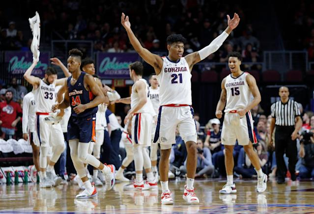 Gonzaga's Rui Hachimura is a top-15 NBA pick and averages 20.1 points per game. (AP)