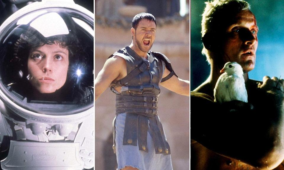 Are you not entertained by Ridley Scott?