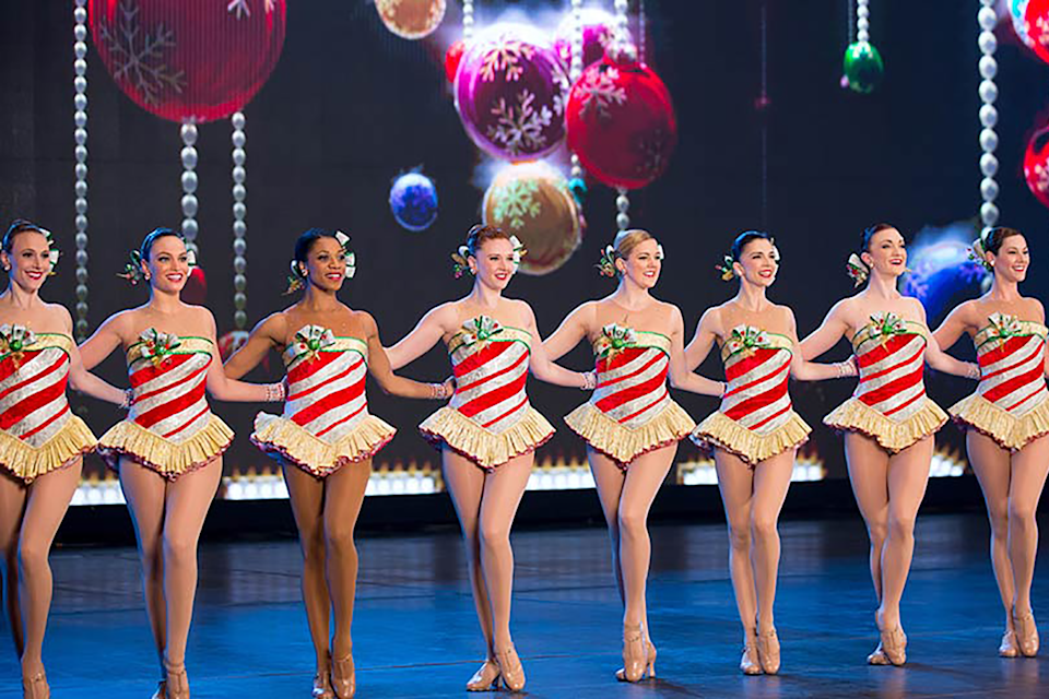 """<strong><em><h3>The Radio City Christmas Spectacular</h3></em><h3>, 2007</h3></strong><h3><br></h3><br>Just because you can't make it to New York City, doesn't mean you can't enjoy the magic of the Radio City Christmas Spectacular. It's feel-good holiday fun filled with dancing, lights, and high kicks, courtesy of the Rockettes.<br><br><strong>Watch On: </strong>Netflix<span class=""""copyright"""">Photo: Courtesy of Netflix. </span>"""