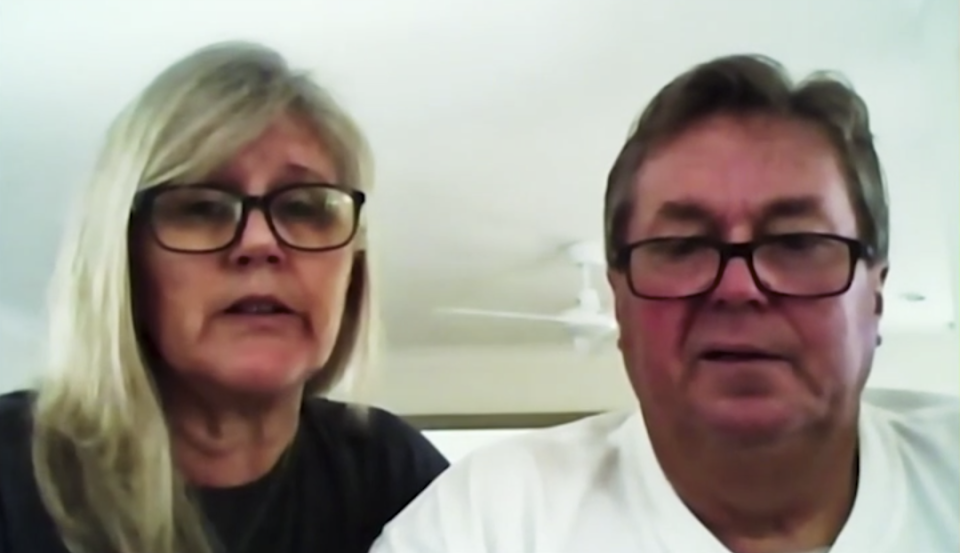 Bryce Ruthven's mum and dad on Married At First Sight