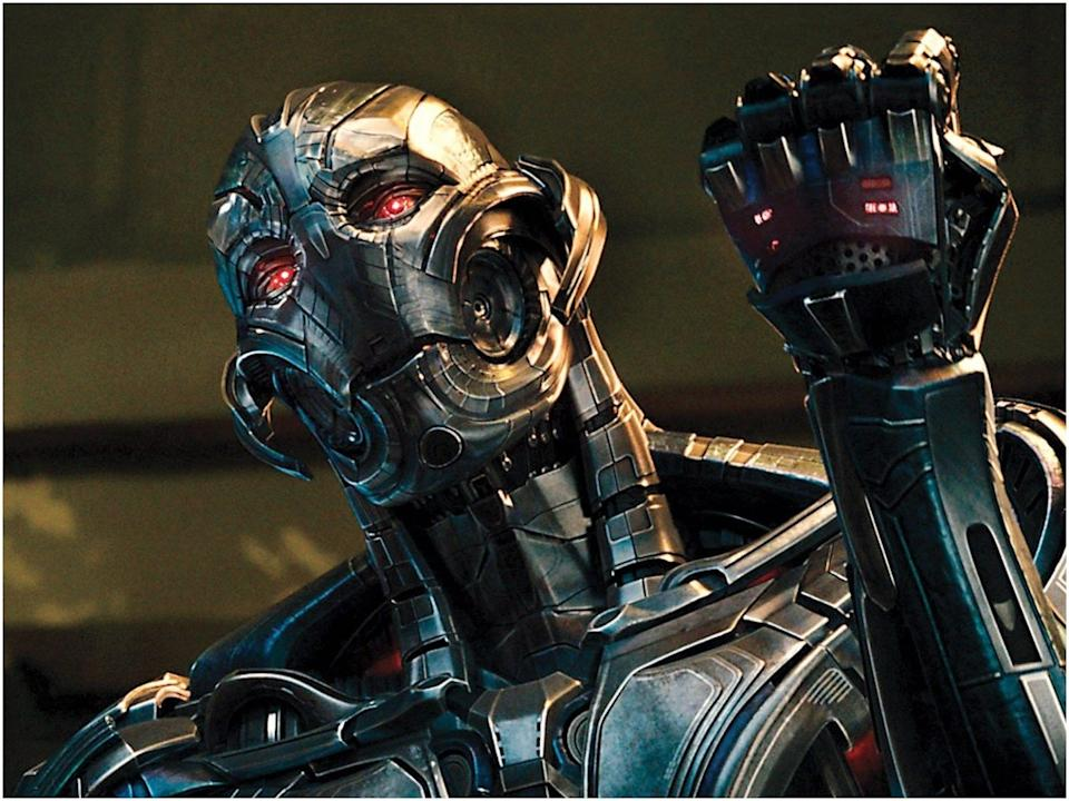 """James Spader played Ultron in """"Avengers: Age of Ultron."""""""