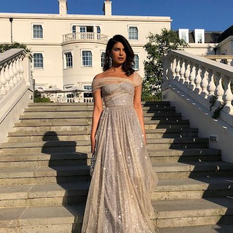 The actress and singer Priyanka Chopra is a friend of the Duchess of Sussex - Credit: Instagram