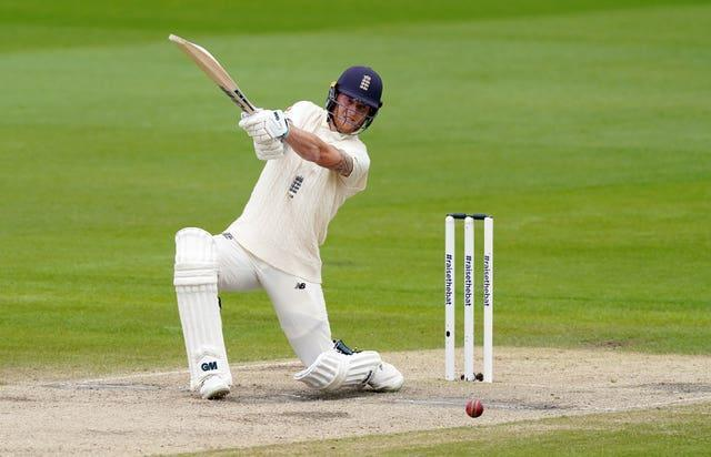 Ben Stokes survived chances on 31 and 32 to make an aggressive 82