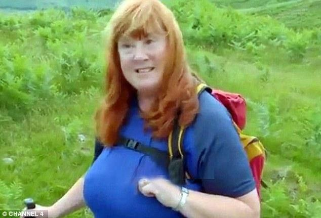 Christine is loving being a naturist full-time now. Photo: Channel 4