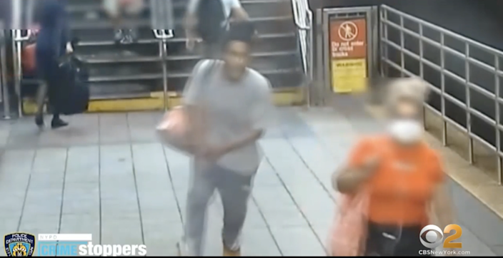 Luzby Gallego was punched in an unprovoked attack on the subway, says NYPD (NYPD)