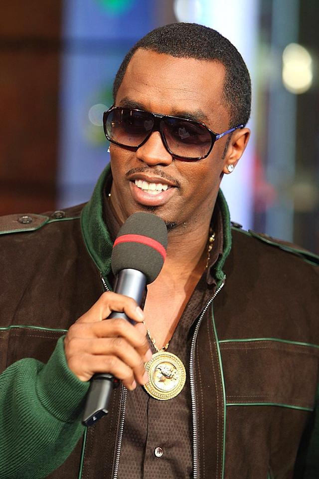 "Sean ""Diddy"" Combs stops in at MTV's ""TRL"" to promote the Making the Band 4 Tour, which will feature performances by Danity Kane, Day 26, and Donnie Klang. Theo Wargo/<a href=""http://www.wireimage.com"" target=""new"">WireImage.com</a> - April 15, 2008"