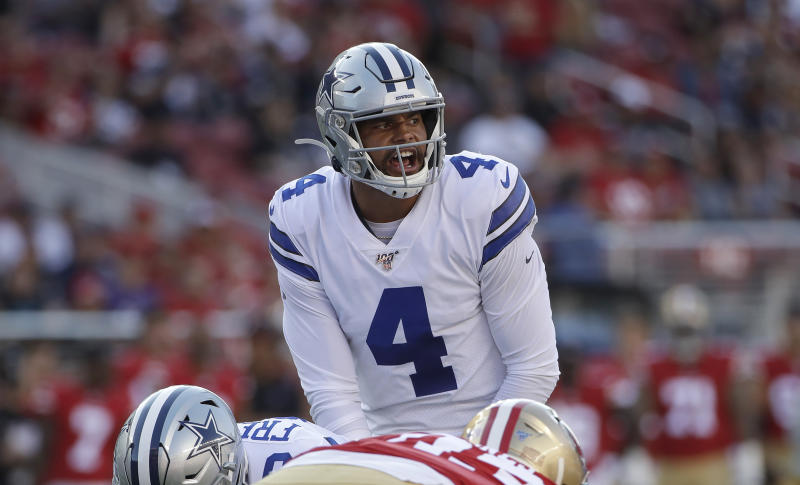Cowboys QB Prescott turns down $30million-per-year offer