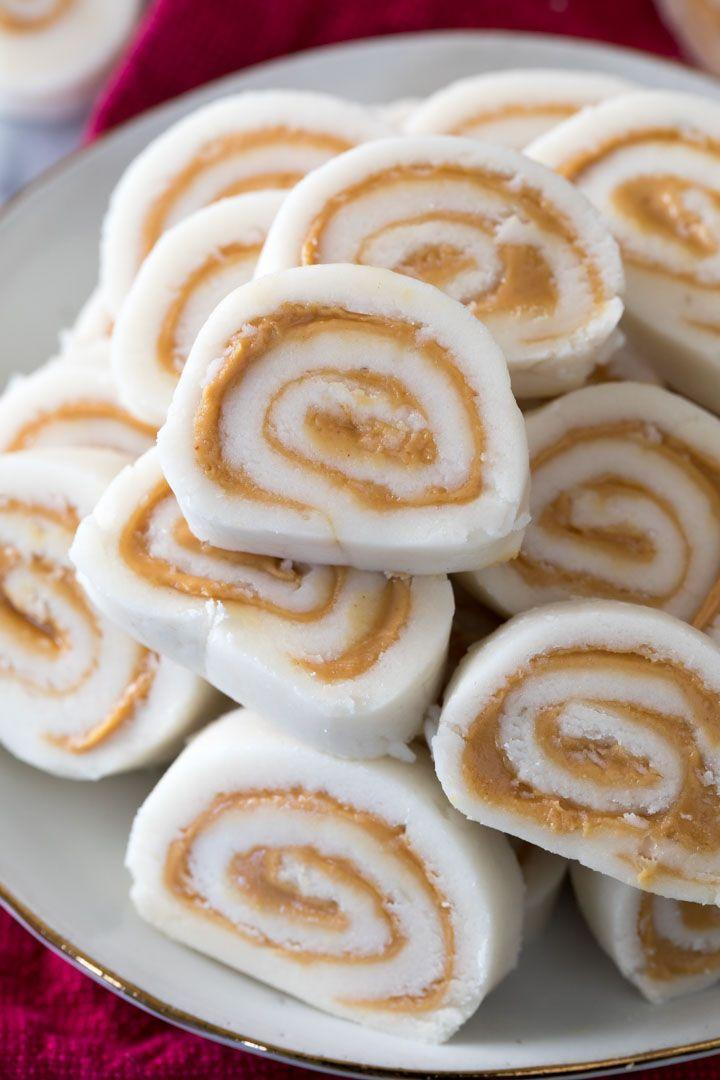 """<p>This classic candy will remind you of the one Grandma used to make—and maybe even better!</p><p><strong>Get the recipe at <a href=""""https://therecipecritic.com/peanut-butter-pinwheel-candy/"""" rel=""""nofollow noopener"""" target=""""_blank"""" data-ylk=""""slk:The Recipe Critic"""" class=""""link rapid-noclick-resp"""">The Recipe Critic</a>.</strong></p>"""