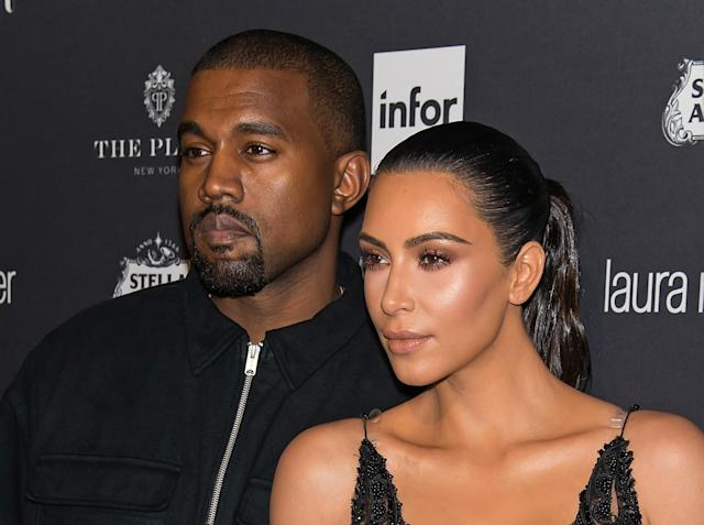 Kim Kardashian calls Kanye West the 'best husband ever' in Instagram video revealing stock purchases (Getty Images)
